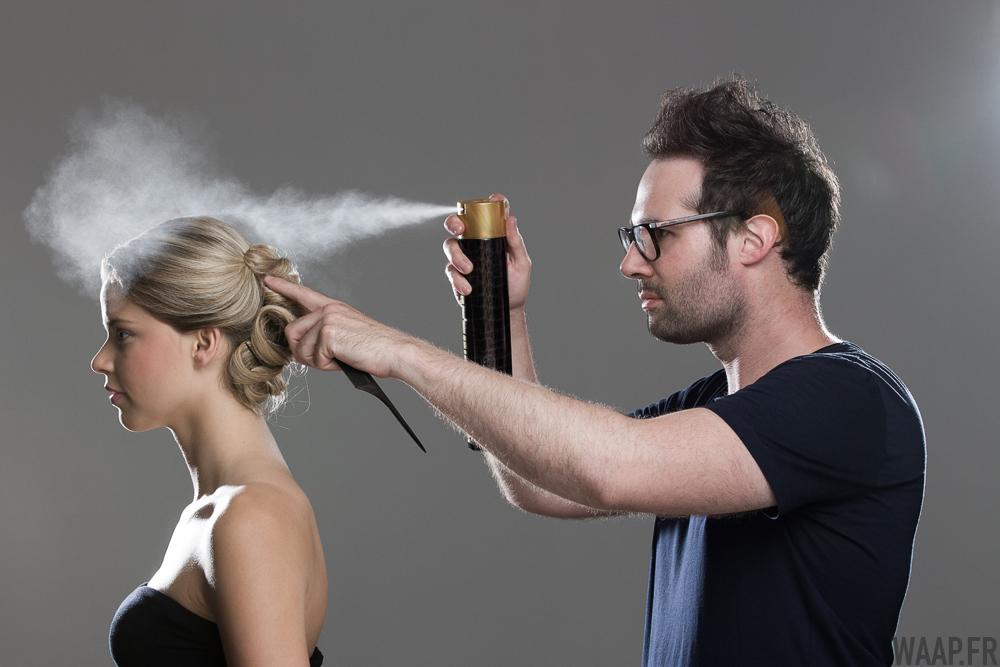 Coiffeur — Angelina coiffée par Steeve Fouqueray